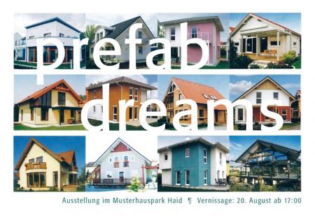 flyer vs 72 450x319 Prefab Dreams, künstlerische Interventionen im Musterhauspark Haid