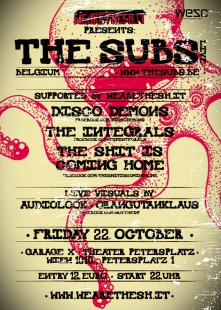 subs 320x450 WEARETHESH.IT pres. THE SUBS