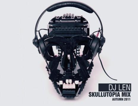 Dj-Len - Skullutopia-Mix-Cover
