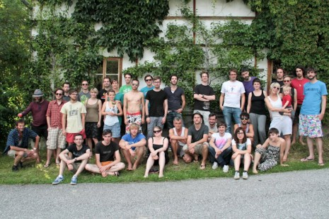 Gruppenfoto Backlab 2011