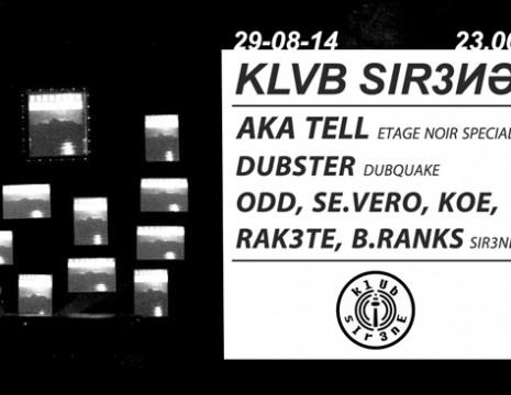 Klub Sir3ne mit Aka Tell