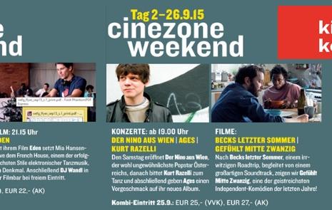 Cinezone Weekend