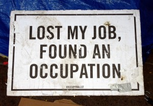 lost my job, found an occupation